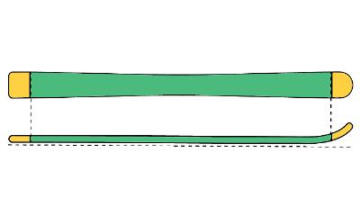 Flat Tail Skis